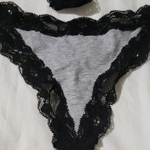 Joe's Jeans Intimates & Sleepwear - NWT set of two Joe's  Lace trim Thong size XS